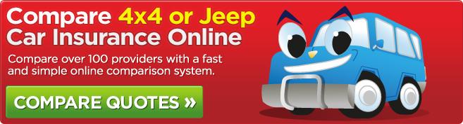 Compare 4x4 Car Insurance Online
