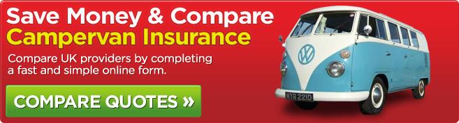 Compare campervan insurers online in minutes