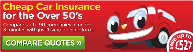 Affordable car insurance for the over fifties