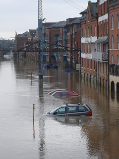 check your car insurance if your car is caught up in flooded water