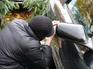 reduce the possibility of your car being stolen by installing security devices and being careful where you park it
