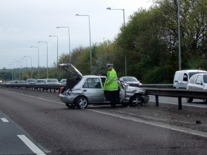 If you overtake another vehicle in a dangerous manoeuvere it may cause an accident