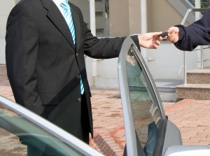 If you are using a car valet parking company to park your car for you say at the airport make sure that either your car insurance policy covers this situation or that the comaony concerned have cover in place should your car be damaged.