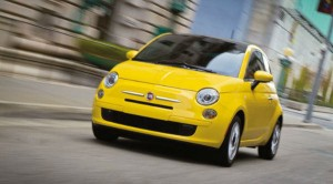 The Fiat 500 comes under a low car insurance group
