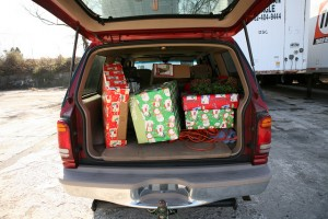 Check your car insurance to see if your Christmas gifts are covered in any way if left out of sight in the boot of a car.